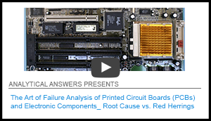 Art failure analysis printed circuit boards pcbs electronic component